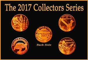 Friends of red rock canyon, coin set